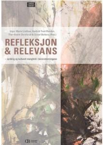 Omslag til boka Refleksjon og relevans