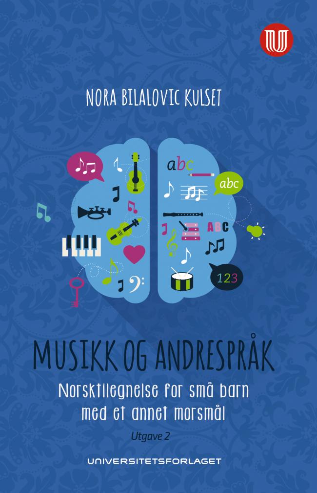 omslag til boka Musikk og andrespråk
