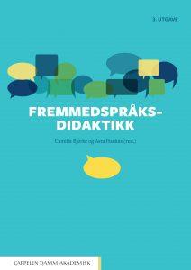Omslaget til boka Fremmedspråksdidaktikk 3. utgåve.