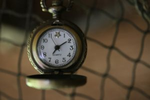 Et gammelt ur.
