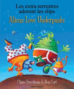 Omslaget til boka Aliens Love Underpants