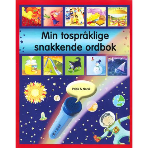 Omslaget til boka Min tospråklige snakkende ordbok